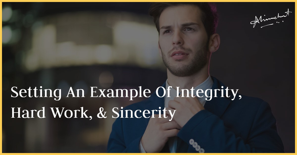 example of integrity