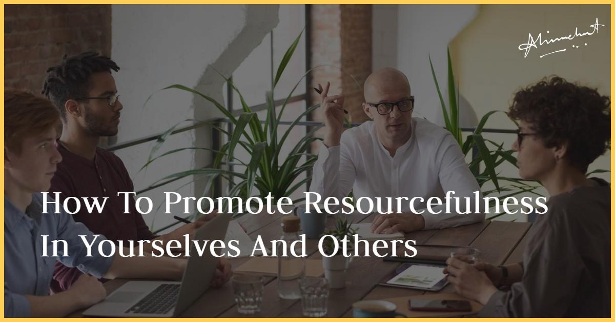 promote resourcefulness
