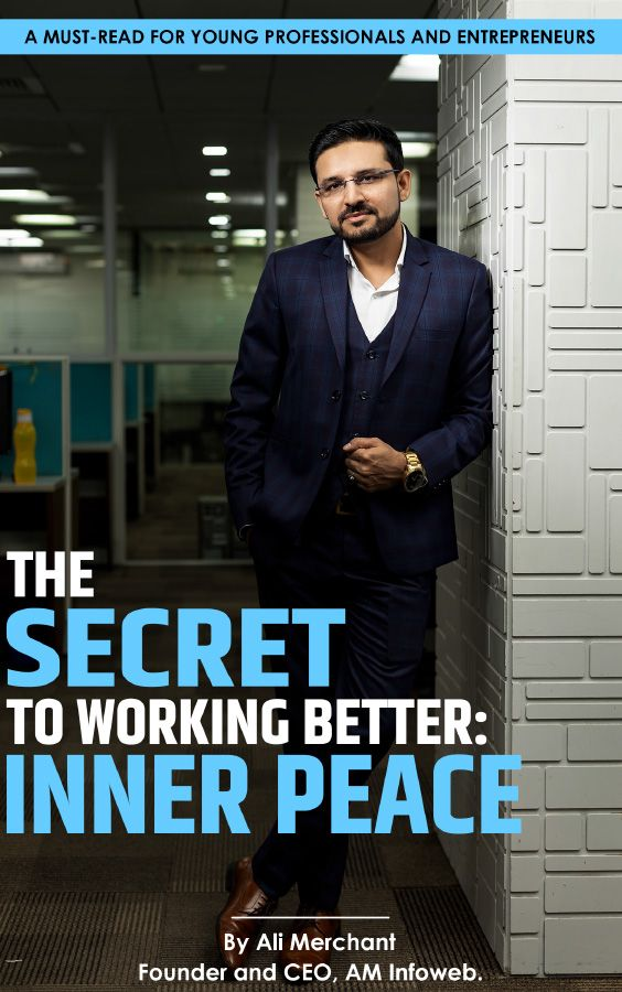 The Secret To Working Better Inner Peace By Ali Merchant Book Cover