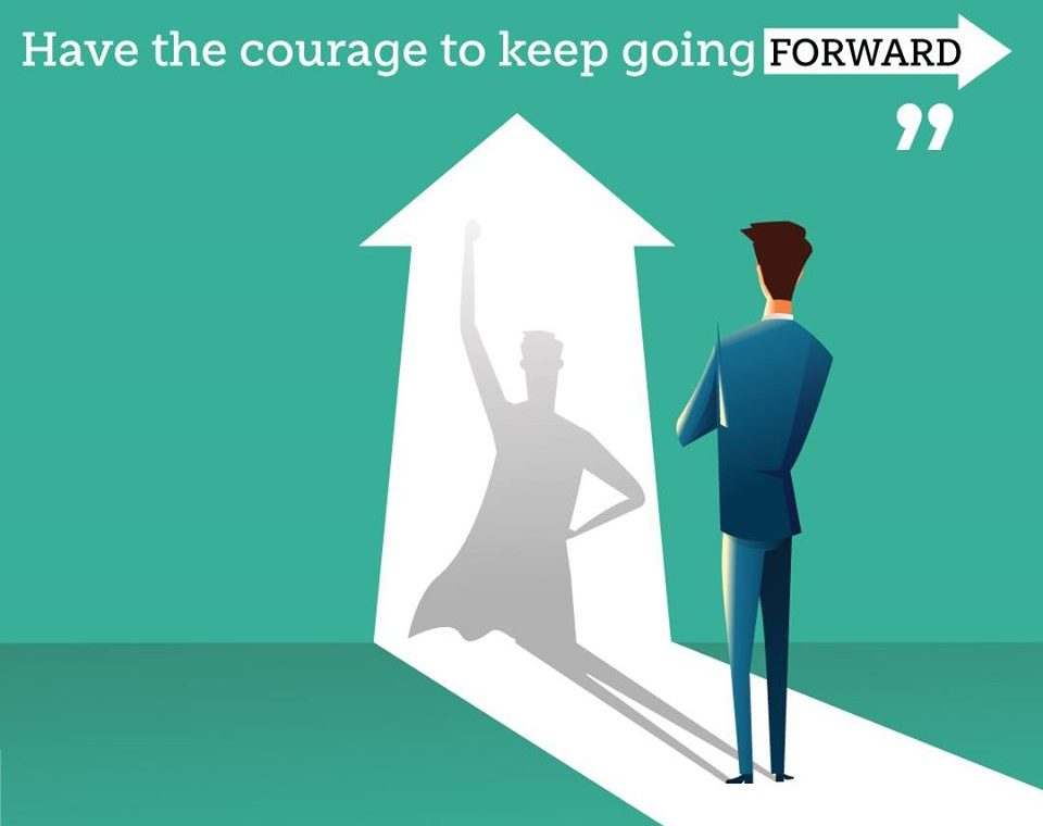 keep going forward
