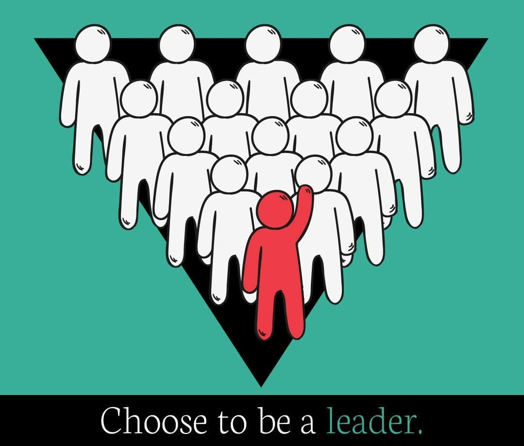 choose to be leader